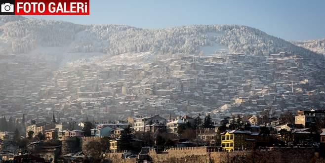 Bursa'dan kış manzaraları