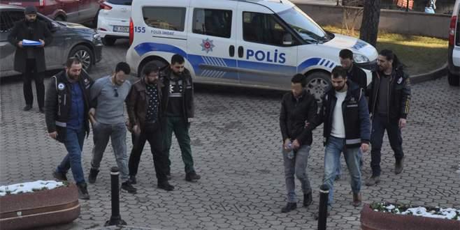 Bursa'da yılbaşı operasyonu: 11 gözaltı