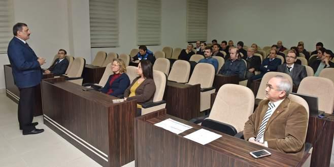 Belediye personeline kurum içi eğitim