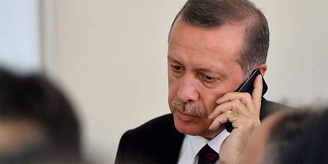 Cumhurbaşkanı Erdoğan'a liderlerden taziye telefonu