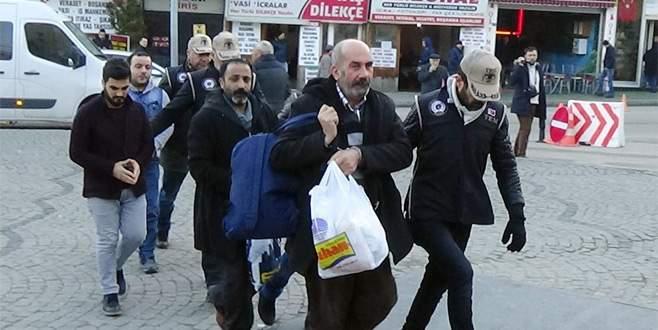 Bursa'da terör operasyonu: 4 tutuklama