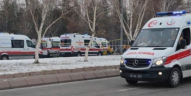 Kayseri'deki terör saldırısına ilişkin 4 gözaltı