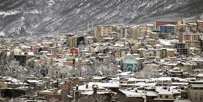 Bursa Valiliği'nden yoğun kar yağışı uyarısı