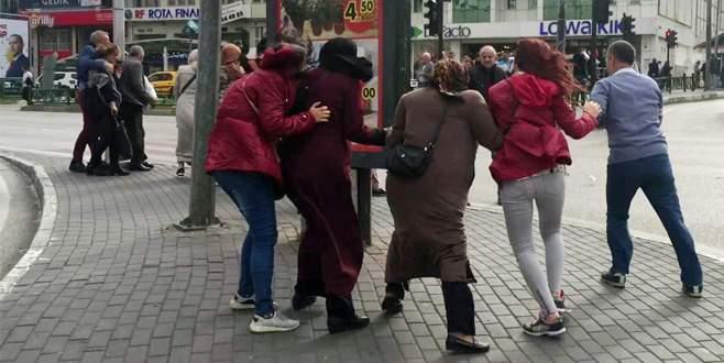 Bursa'da lodos etkili oldu