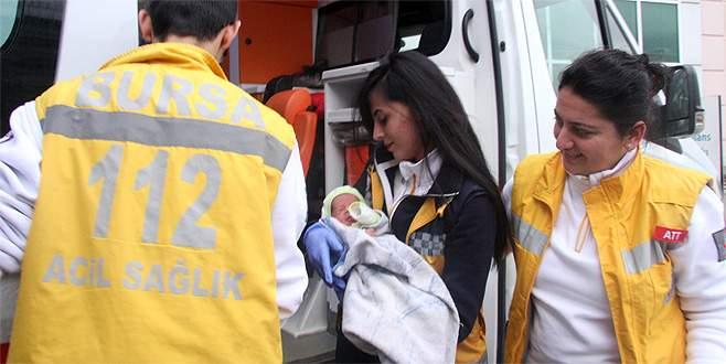 Bursa'da bir haftalık bebeği ölüme terk ettiler