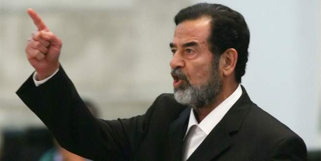 CIA'den geç gelen Saddam itirafı