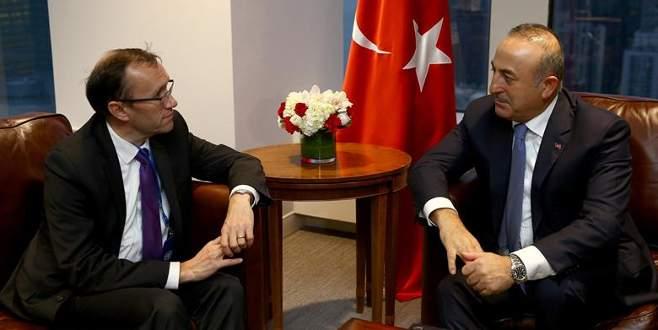 Çavuşoğlu, Kıbrıs Özel Danışmanı Eide ile görüştü