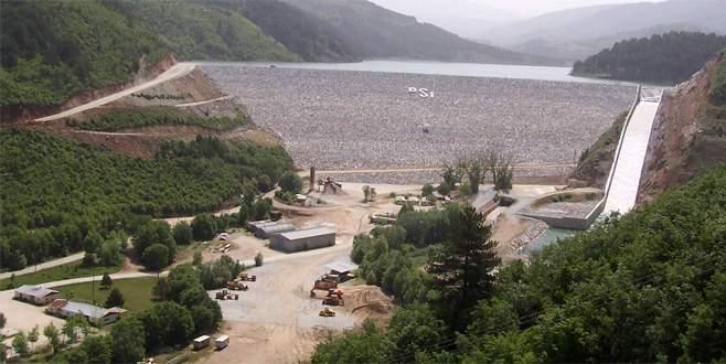 Bursa'nın verimli toprakları suyla buluşuyor