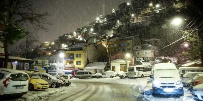 Bursa'da yoğun kar yağışı bekleniyor