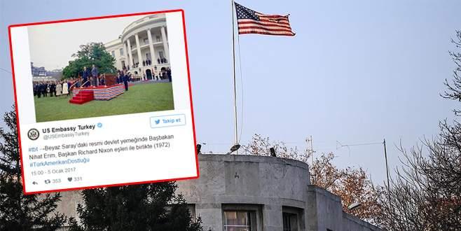 ABD Büyükelçiliği'nden tepki çeken paylaşım!
