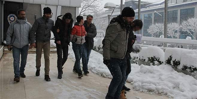Sahte polisler Bursa'da yakalandı