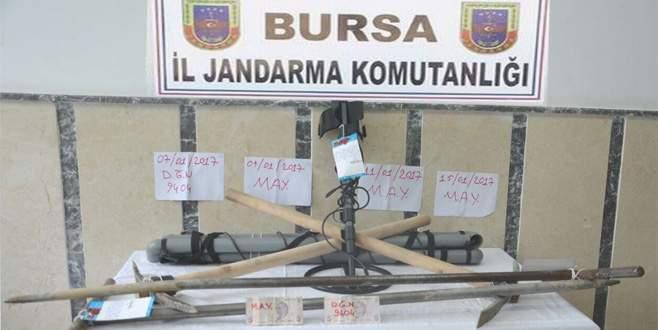 SİT alanındaki kaçak kazıya 2 tutuklama