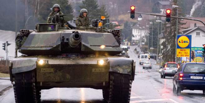ABD tankları bölgede istikrarı baltalıyor