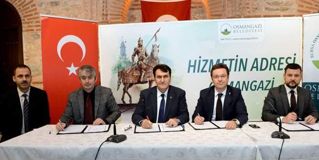 Osmangazi'den mesleki eğitime büyük destek