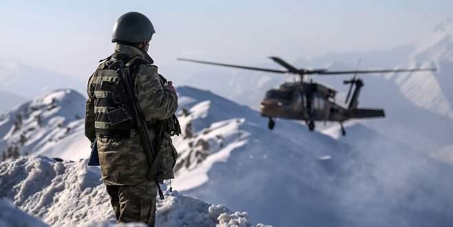 Son bir haftada PKK'ya 253 operasyon