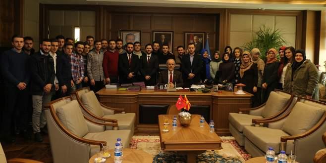 Makedon öğrenciler Bursa'da