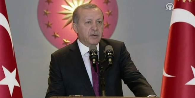 Erdoğan: 'Terör örgütleri çağımızın barbarları durumundadır'