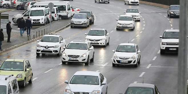 Bursa'da trafiğe kayıtlı araç sayısı arttı