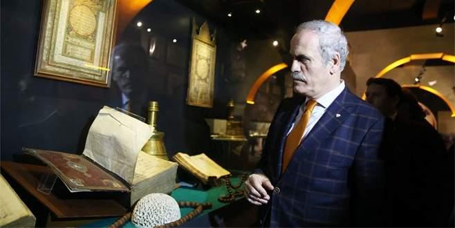 'Payitaht'ın 700 yıllık vakıf kültürü bu müzede