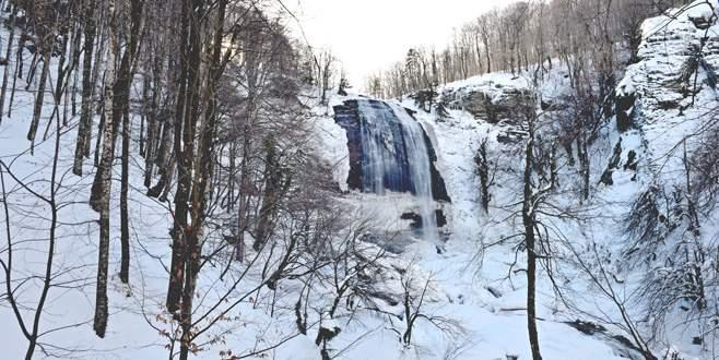 Suuçtu'da kış güzelliği