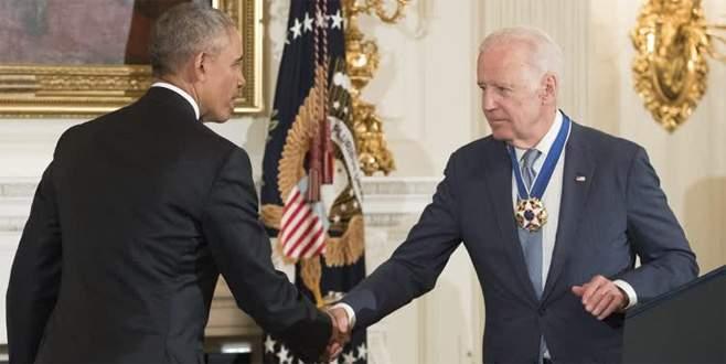 Obama'dan Biden'a ABD'nin en yüksek madalyası