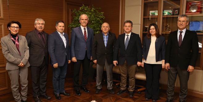 'Bursa'ya katkı koyacak her çalışmaya destek veririz'