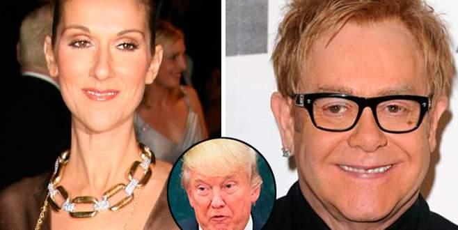 Trump'a sanatçı şoku