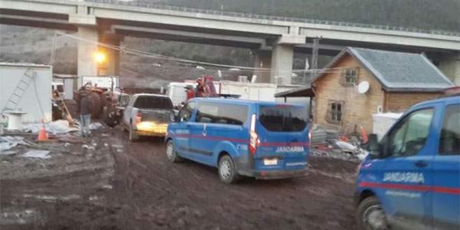 Otoyol şantiyesine bir haftada ikinci PKK operasyonu!