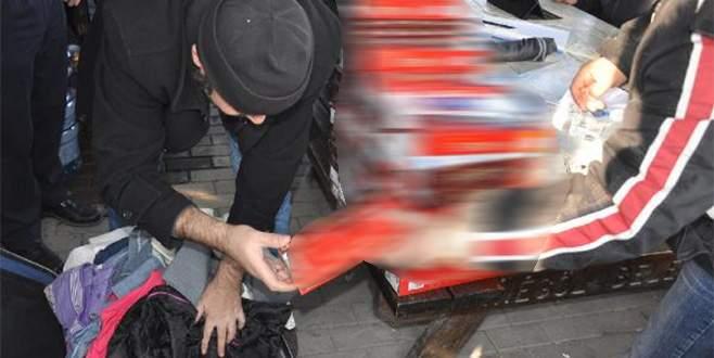 Bursa'da kaçak sigara operasyonu: 2 gözaltı