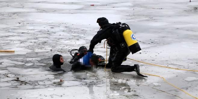 Buz üstünde oyun ölüm getirdi