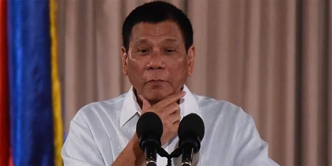 Duterte'den 'teröristleri bombalayın' talimatı