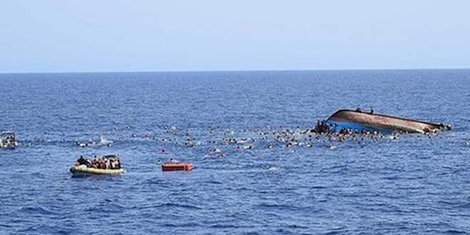 Sığınmacıları taşıyan tekne alabora oldu
