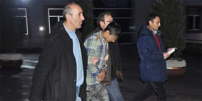 Bursa'da hırsızlıktan tutuklanan gençten ilginç açıklama!