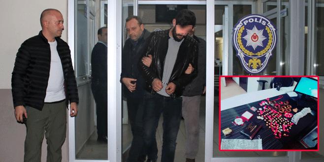 Gönen'den çaldı, Bursa'da yakalandı!