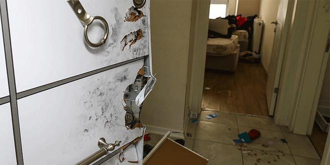 Reina katliamcısının yakalandığı daire görüntülendi