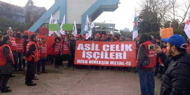 Asil Çelik'te grev ertelendi