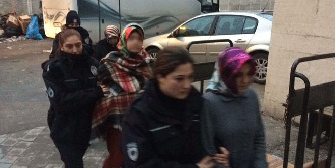 Bursa merkezli 7 ilde operasyon: 24 kişi adliyede