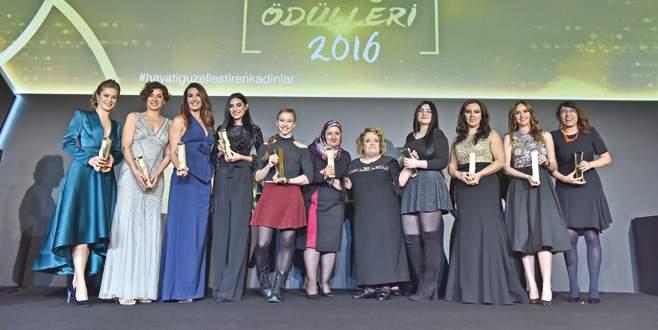 Kadın Ödülleri dağıtıldı