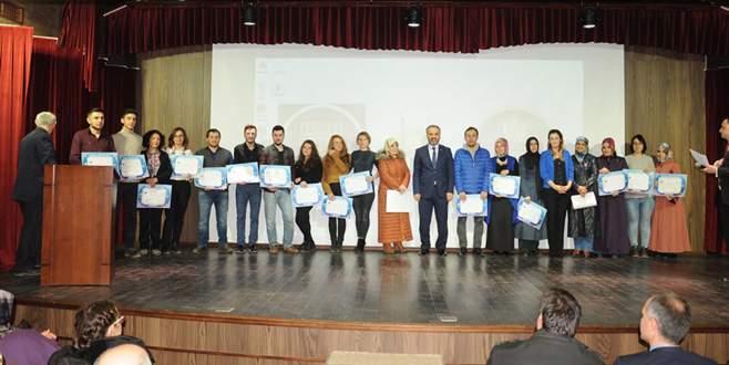 İNESMEK'ten 400 kursiyere sertifika