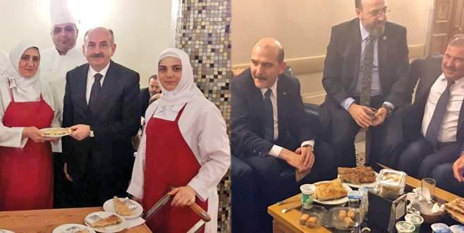Meclis'te duman dumana Bursa: Önce köfte sonra börek