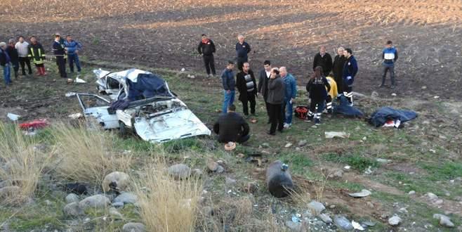 Katliam gibi kaza: 5 ölü, 2 yaralı