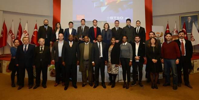 Güney Afrikalı gençler Bursa'da meslek öğrenecek