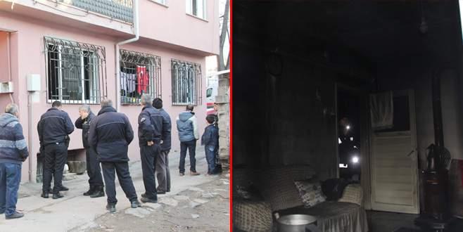 Bursa'da korkutan yangın: 1 kişi dumandan etkilendi