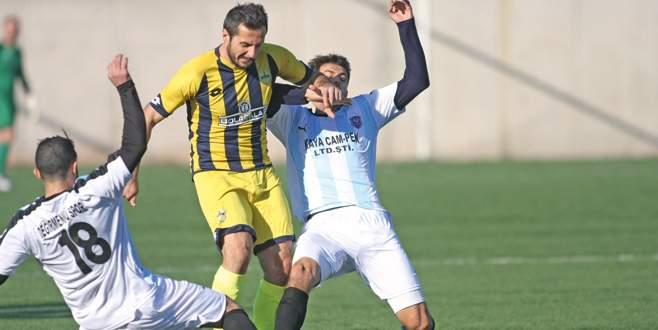 Yenişehir Belediye'ye Değirmenönü çelmesi: 1-1