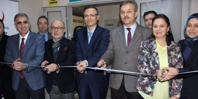Çekirge Devlet'e palyatif bakım merkezi açıldı