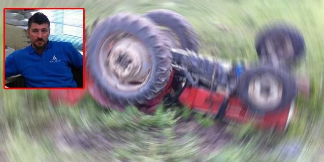 Bursa'da traktör kazası