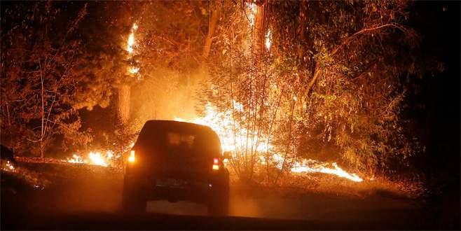 Şili yanıyor