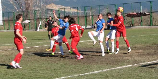 Bursa derbisi Zaferspor'un 2-0