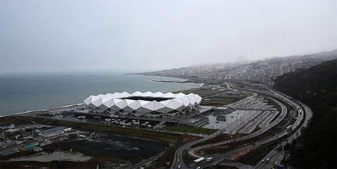 Trabzonspor yeni stadında ilk maçına çıkıyor