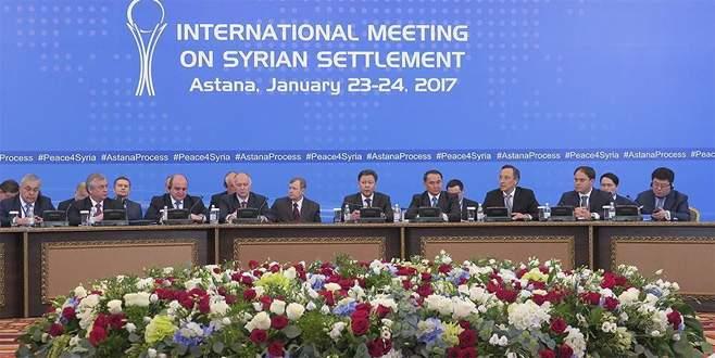 Astana'daki kritik 'Suriye' toplantısı başladı